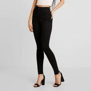 Noisy May Extra Lexi Jeans Skinny Black 26 30